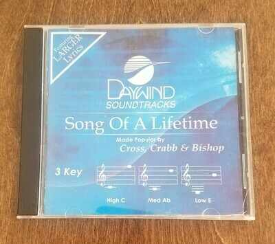 Song of a Lifetime, Accompaniment CD