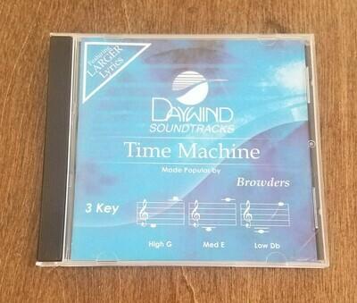 Time Machine, Accompaniment CD