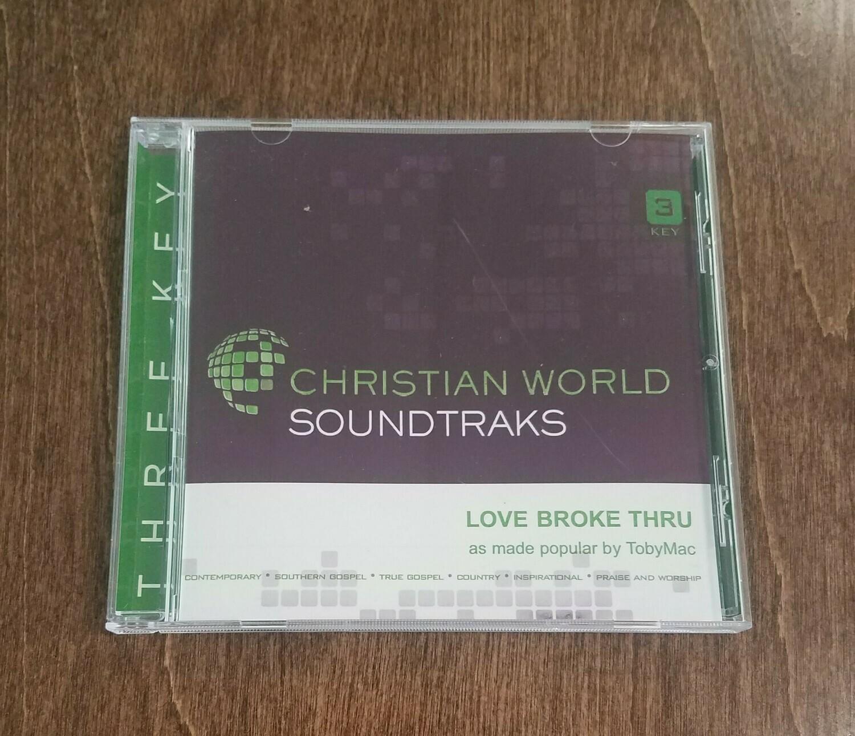 Love Broke Thru CD