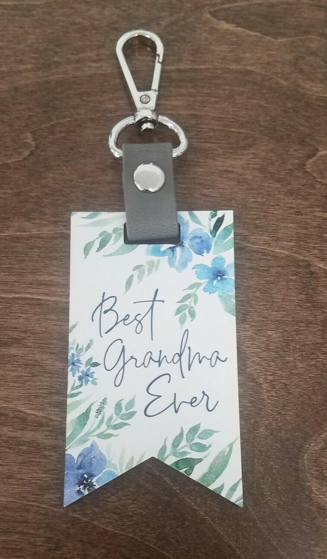 Best Grandma Ever Key Chain