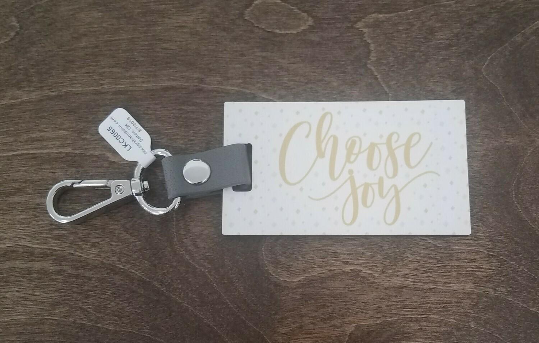 Choose Joy Key Chain