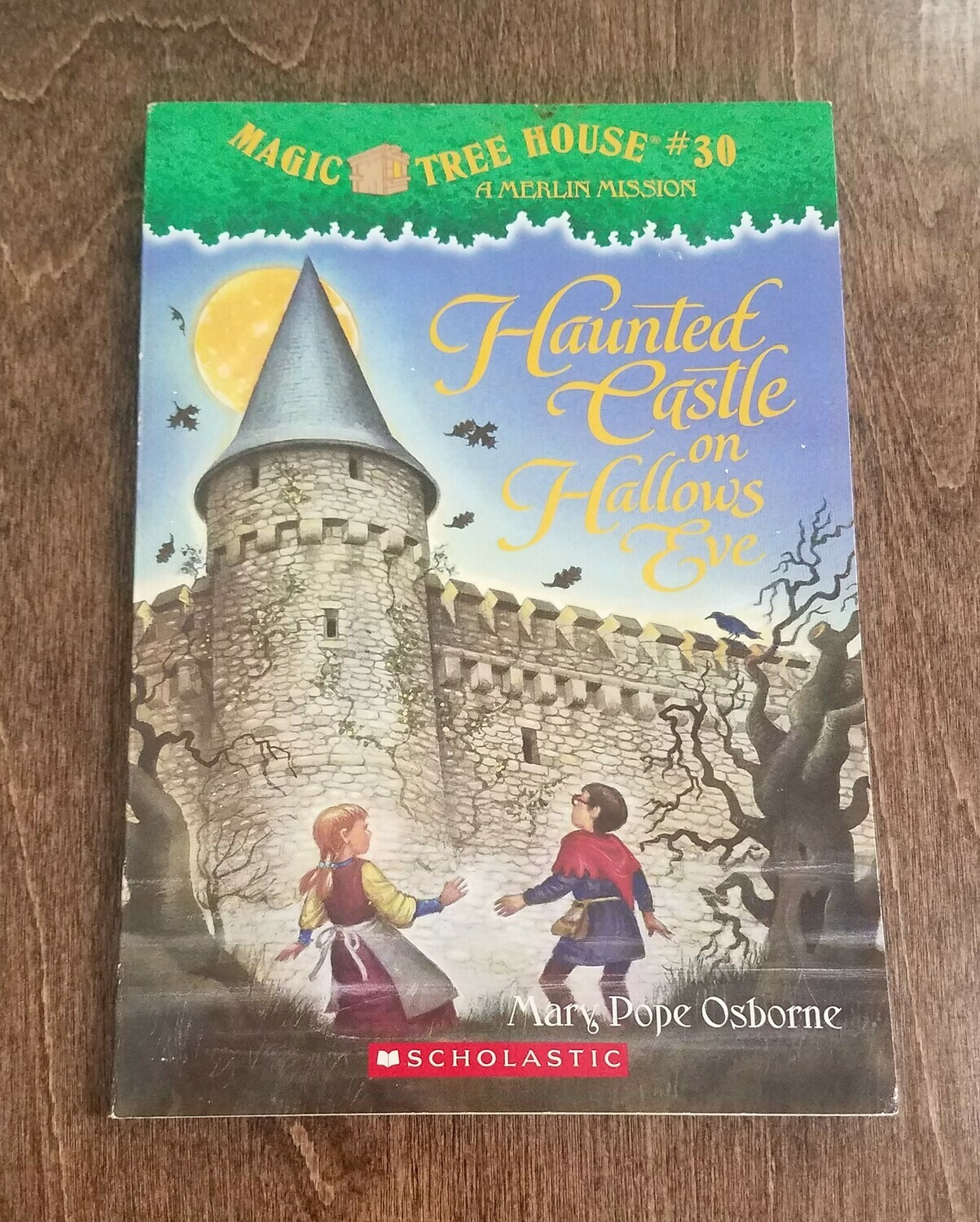 Haunted Castle on Hallows Eve by Mary Pope Osborne