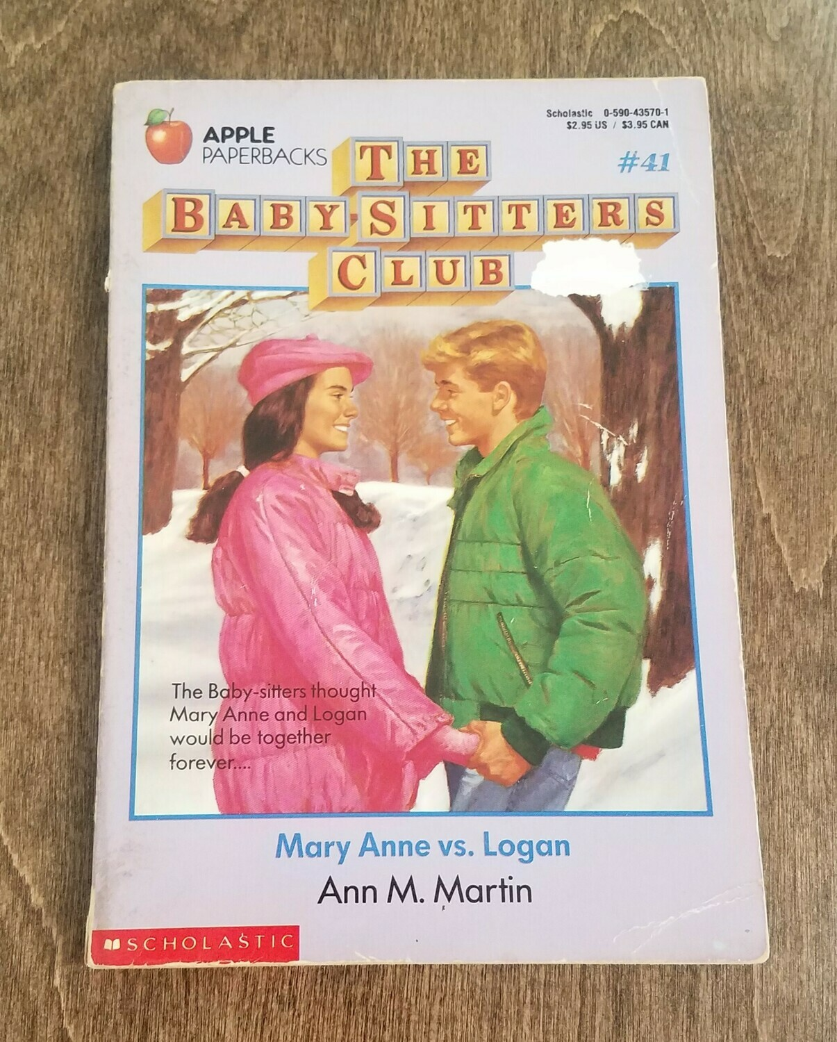 The Babysitters Club: Mary Anne Vs Logan by Ann M. Martin