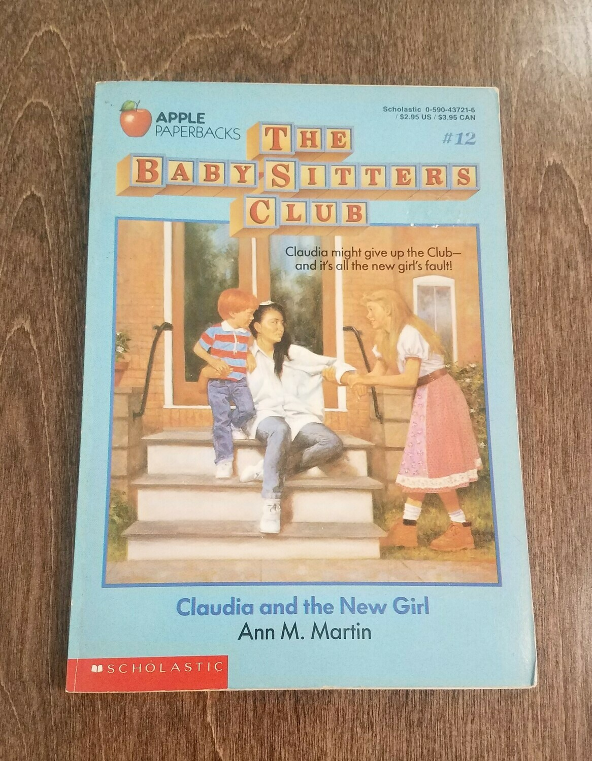 The Babysitters Club: Claudia and the New Girl by Ann M. Martin