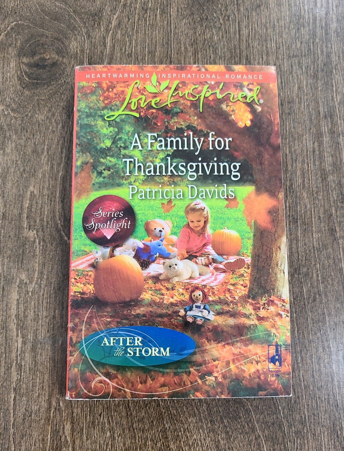 A Family for Thanksgiving by Patricia Davids