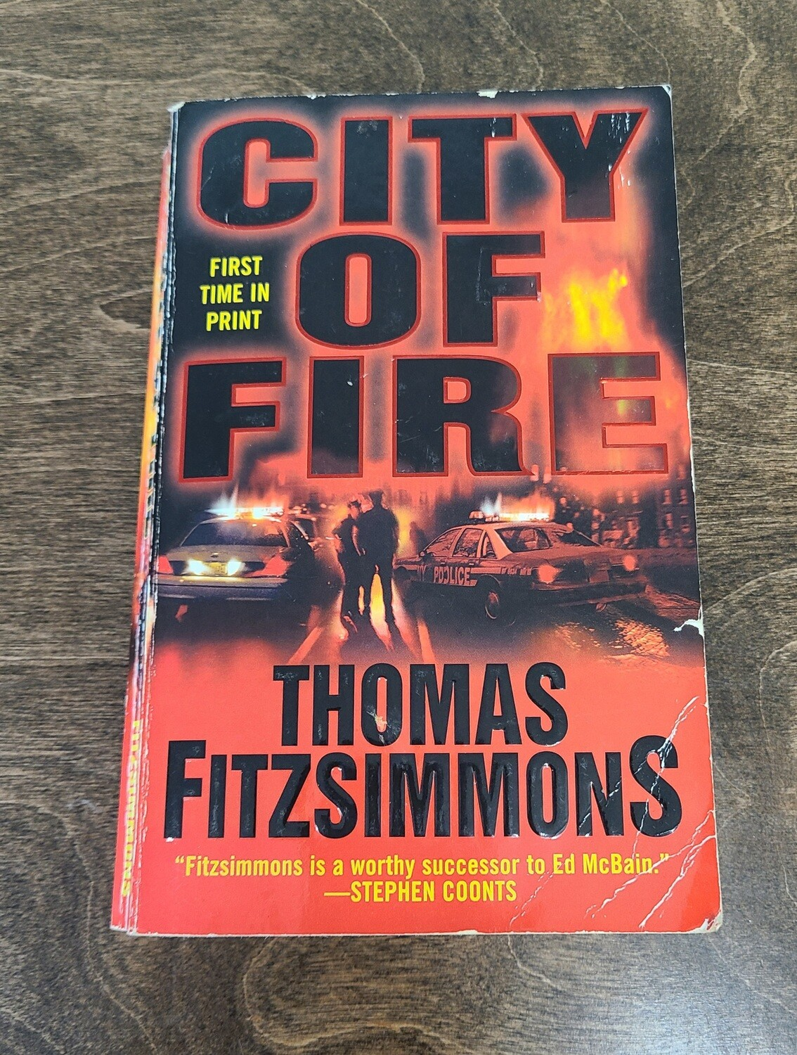 City of Fire by Thomas Fitzsimmons