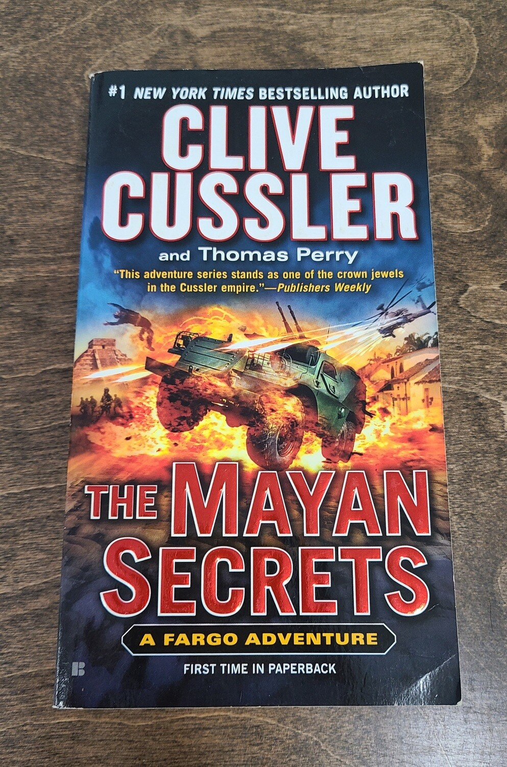 The Mayan Secrets by Clive Cussler and Thomas Perry - PB