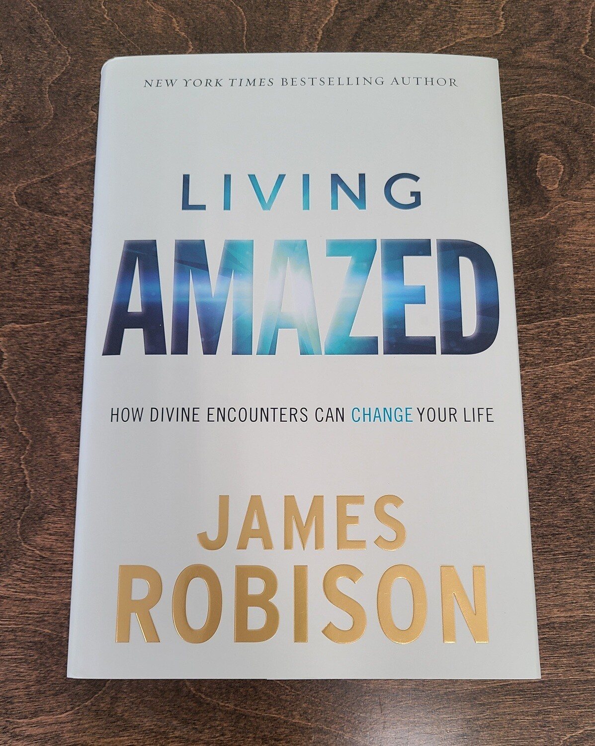 Living Amazed by James Robison