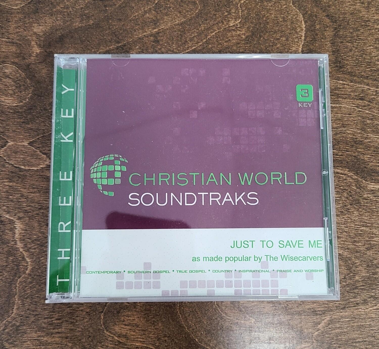 Just to Save Me, Accompaniment CD