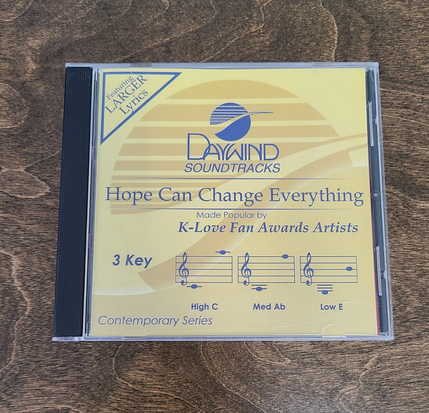 Hope Can Change Everything, Accompaniment CD