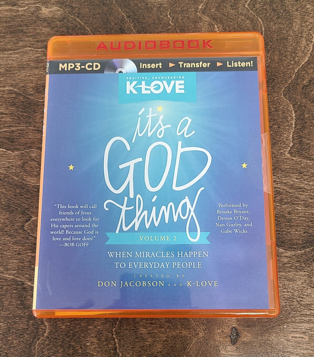It's a God Thing by Don Jacobson AudioBook