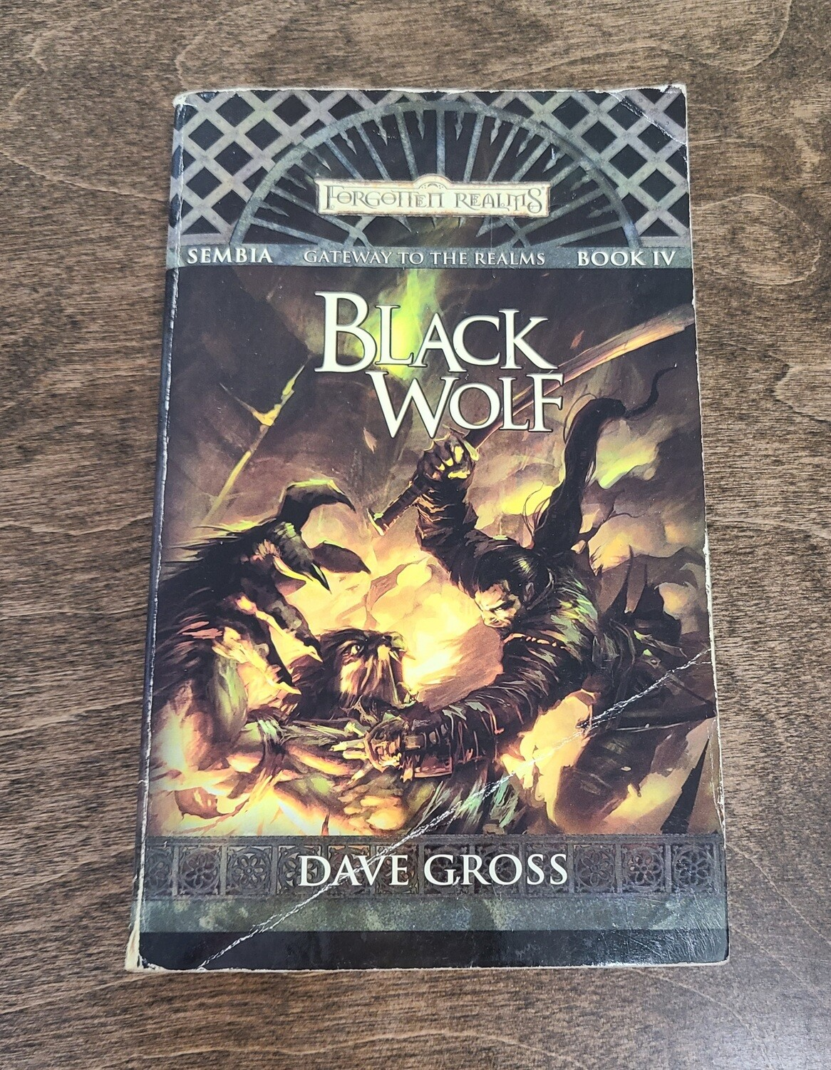 Gateway to the Realms: Black Wolf by Dave Gross