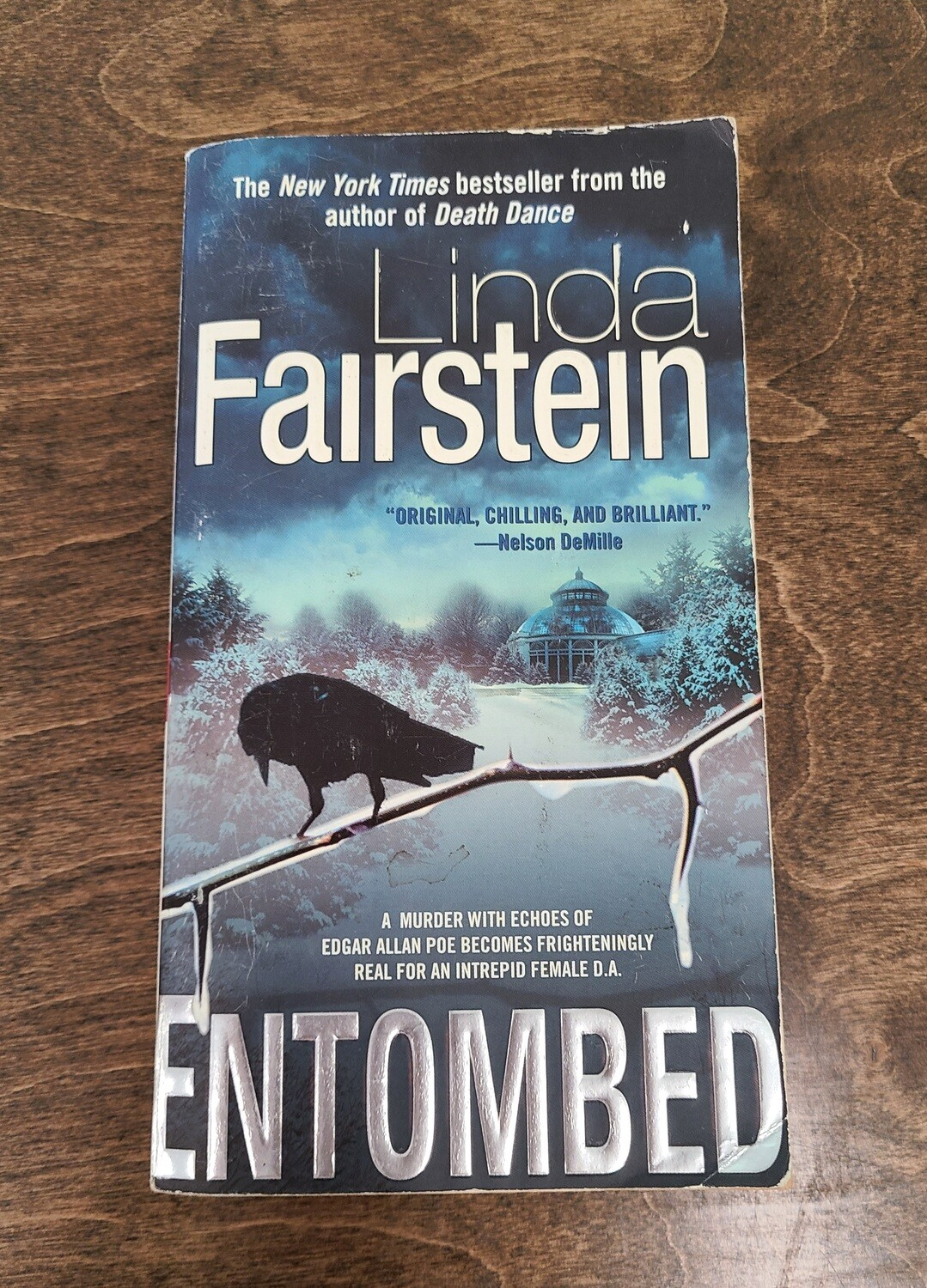 Entombed by Linda Fairstein