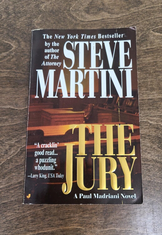 The Jury by Steve Martini - PB