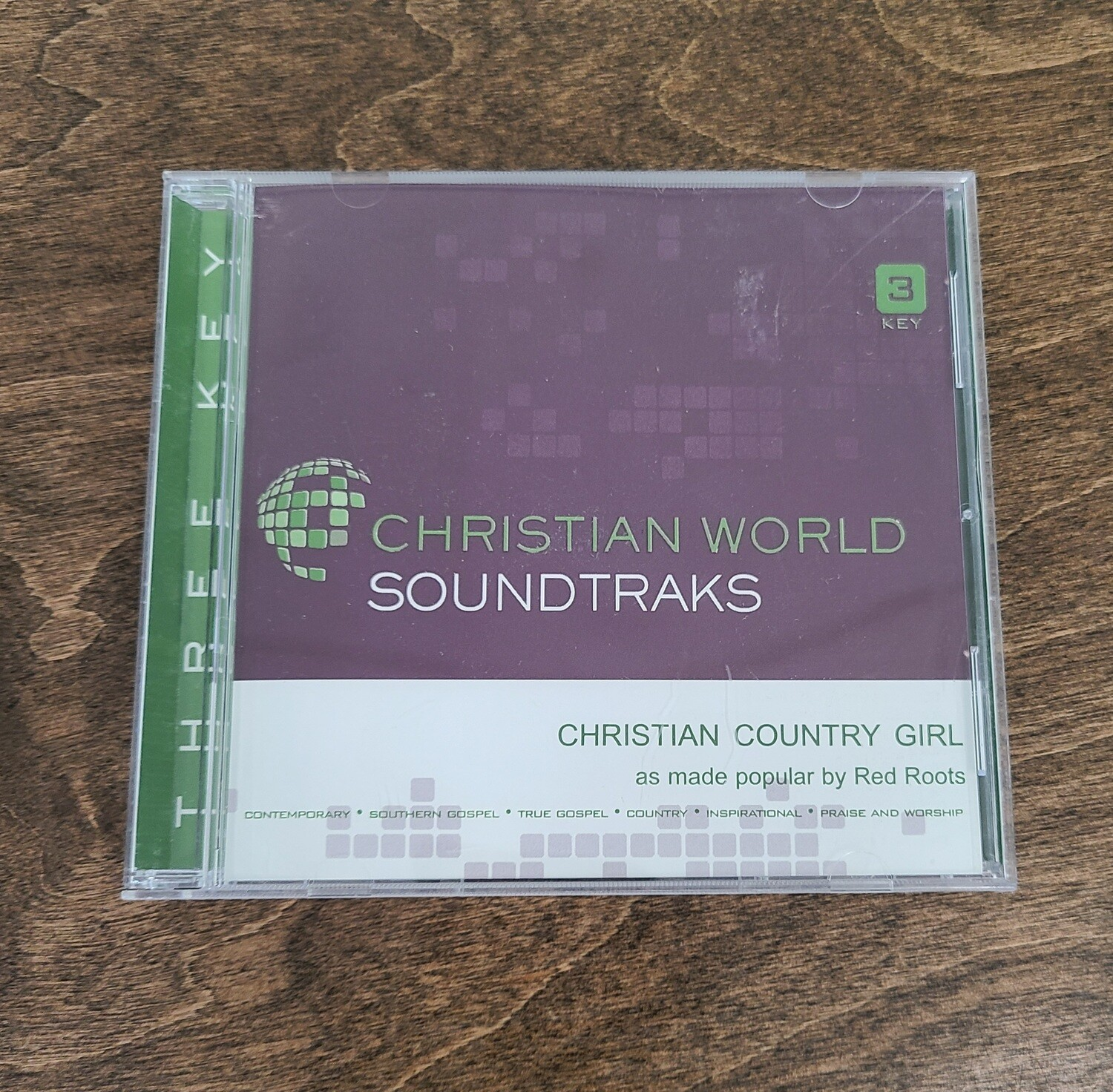 Christian Country Girl by Red Roots Accompaniment CD