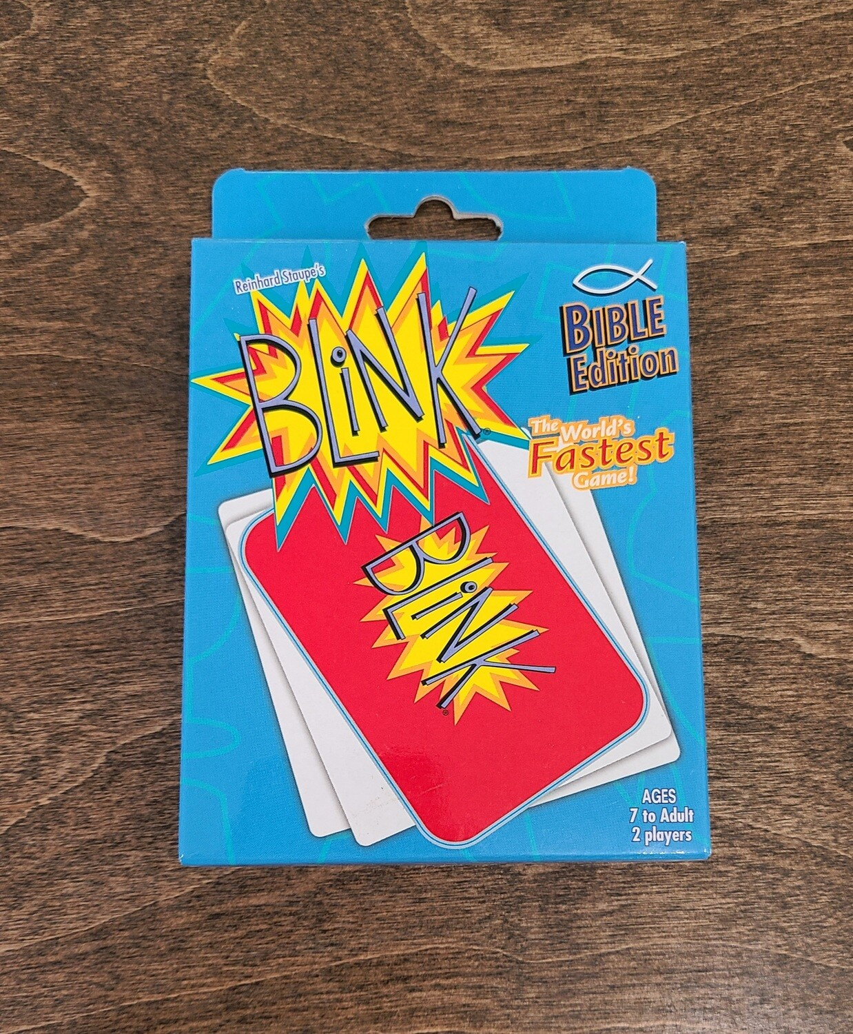 Blink Bible Card Game