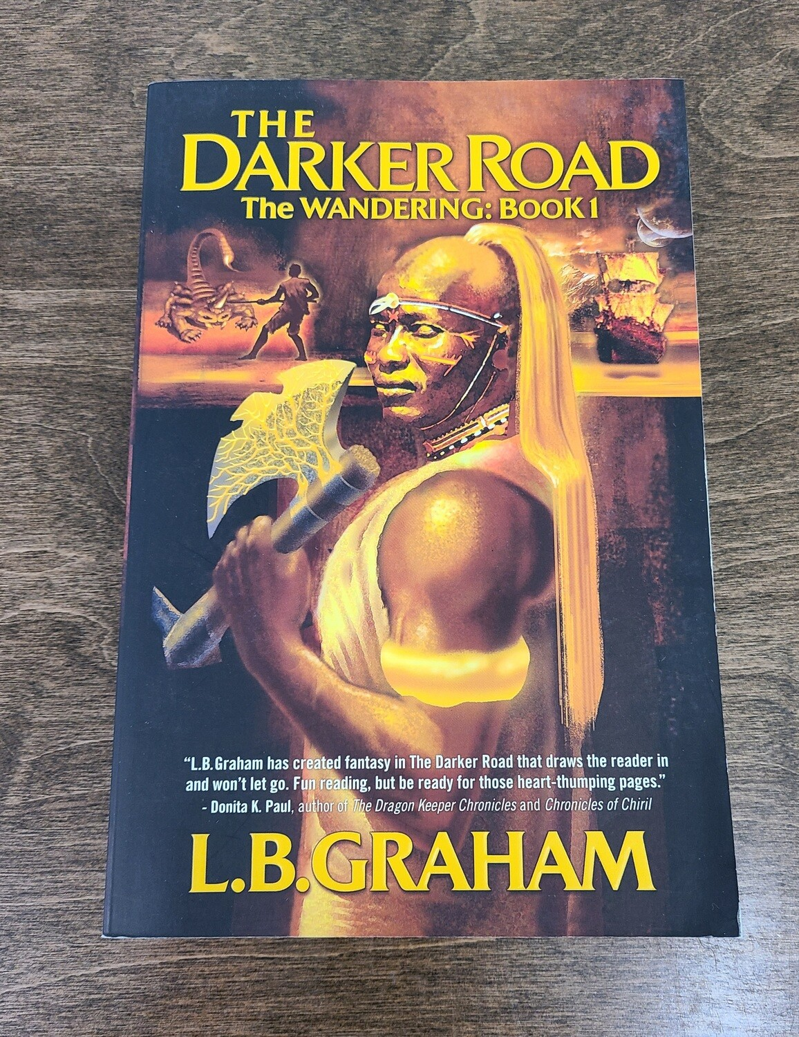 The Wandering: The Darker Road by L.B. Graham