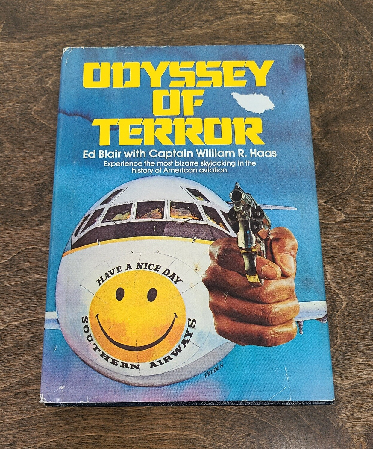 Odyssey of Terror by Ed Blair with Captain William R. Haas