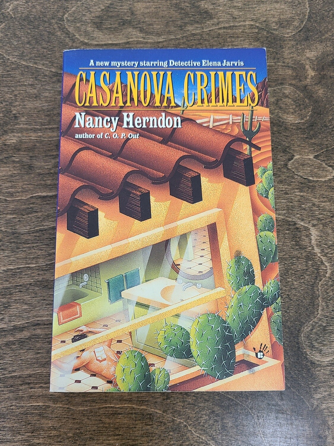 Casanova Crimes by Nancy Herndon