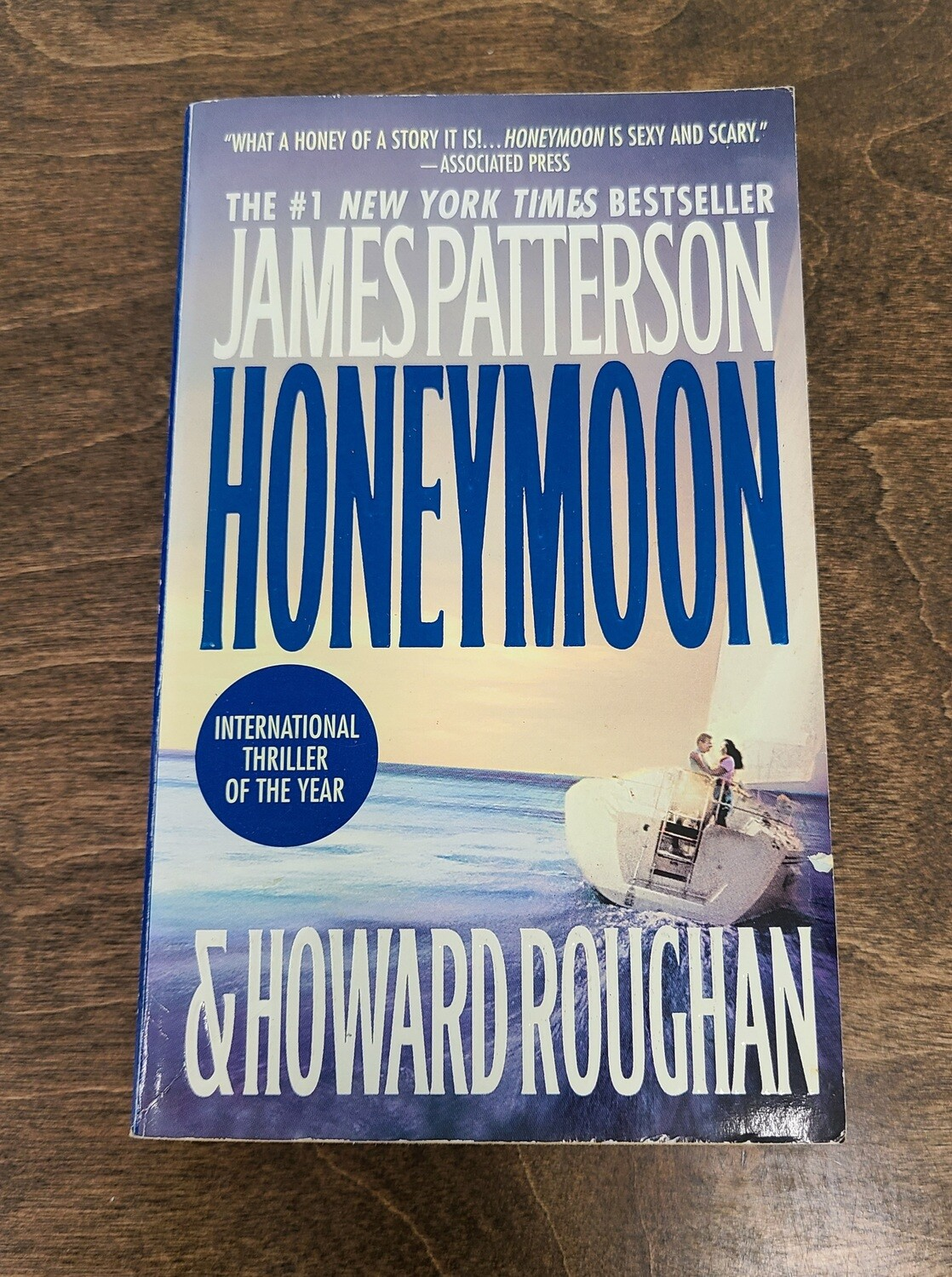 Honeymoon by James Patterson and Howard Roughan - PB