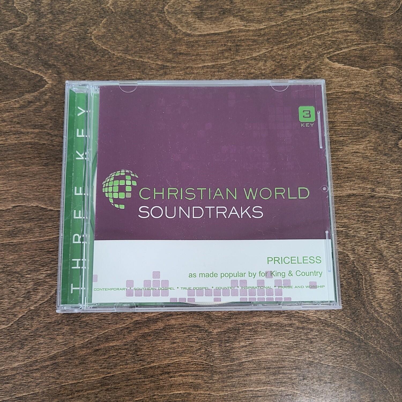 Priceless Accompaniment CD