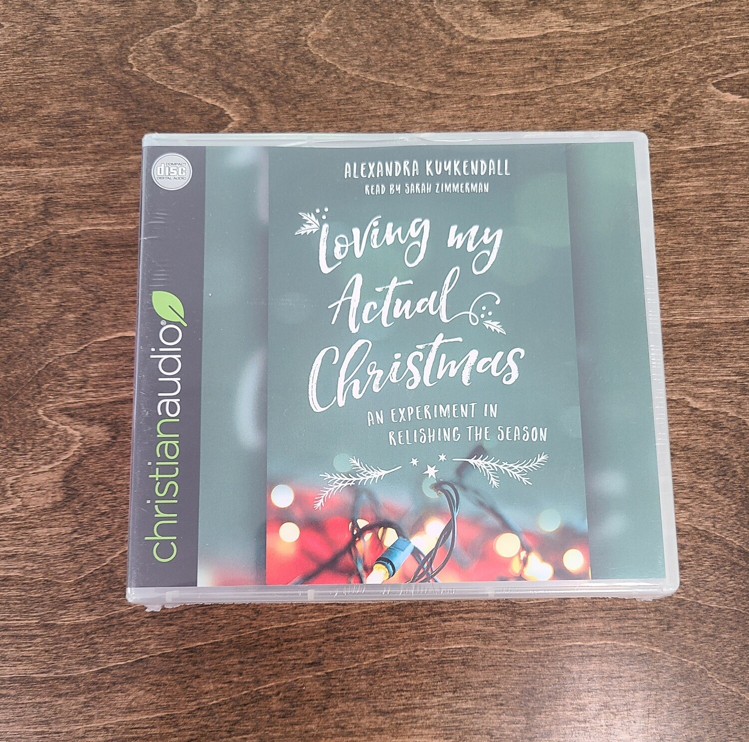 Loving my Actual Christmas by Alexandra Kuykendall Audiobook