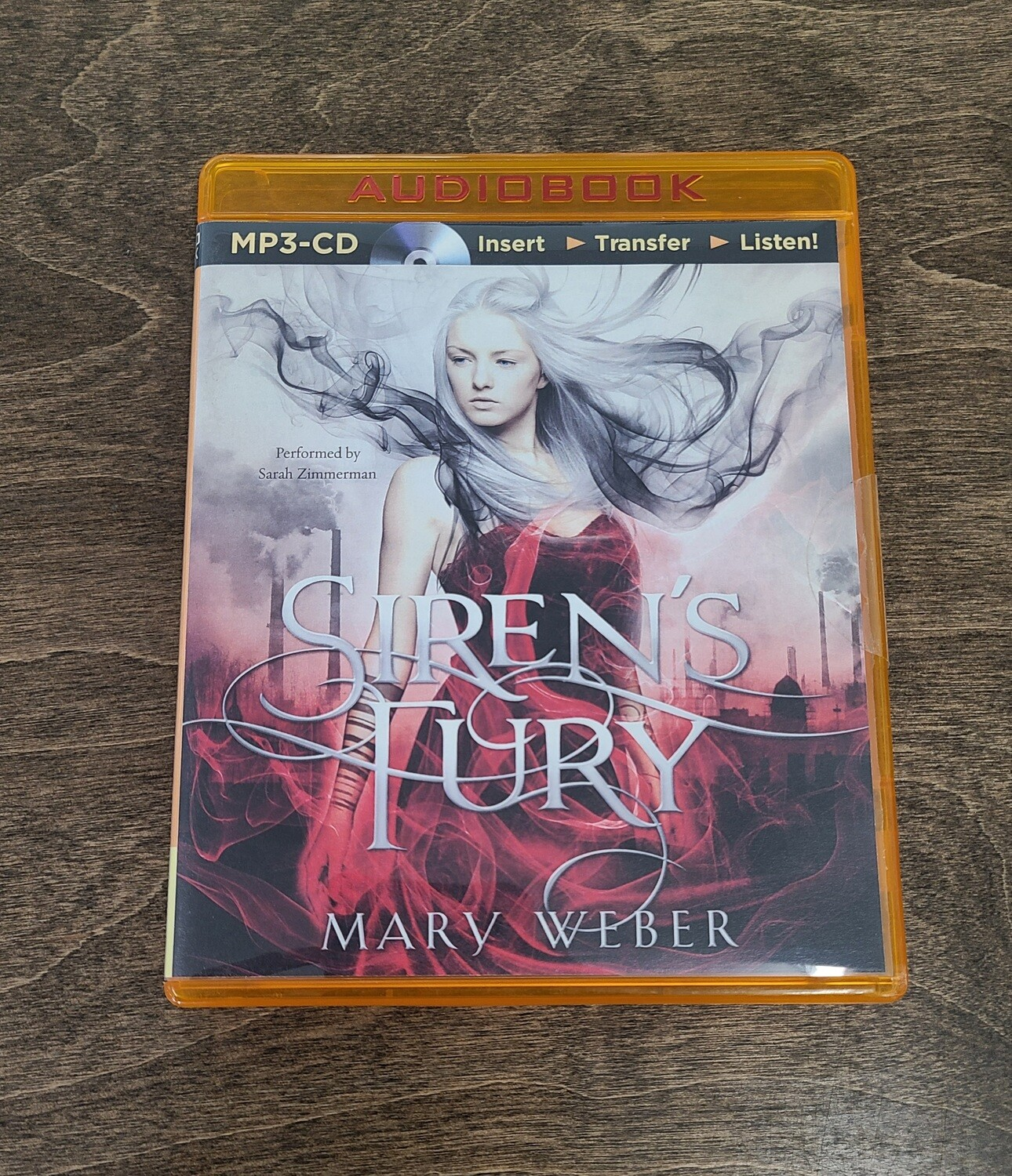 Siren's Fury by Mary Weber Audiobook