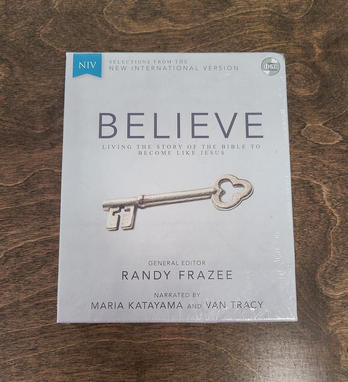 NIV Believe by Randy Frazee AudioBook CD