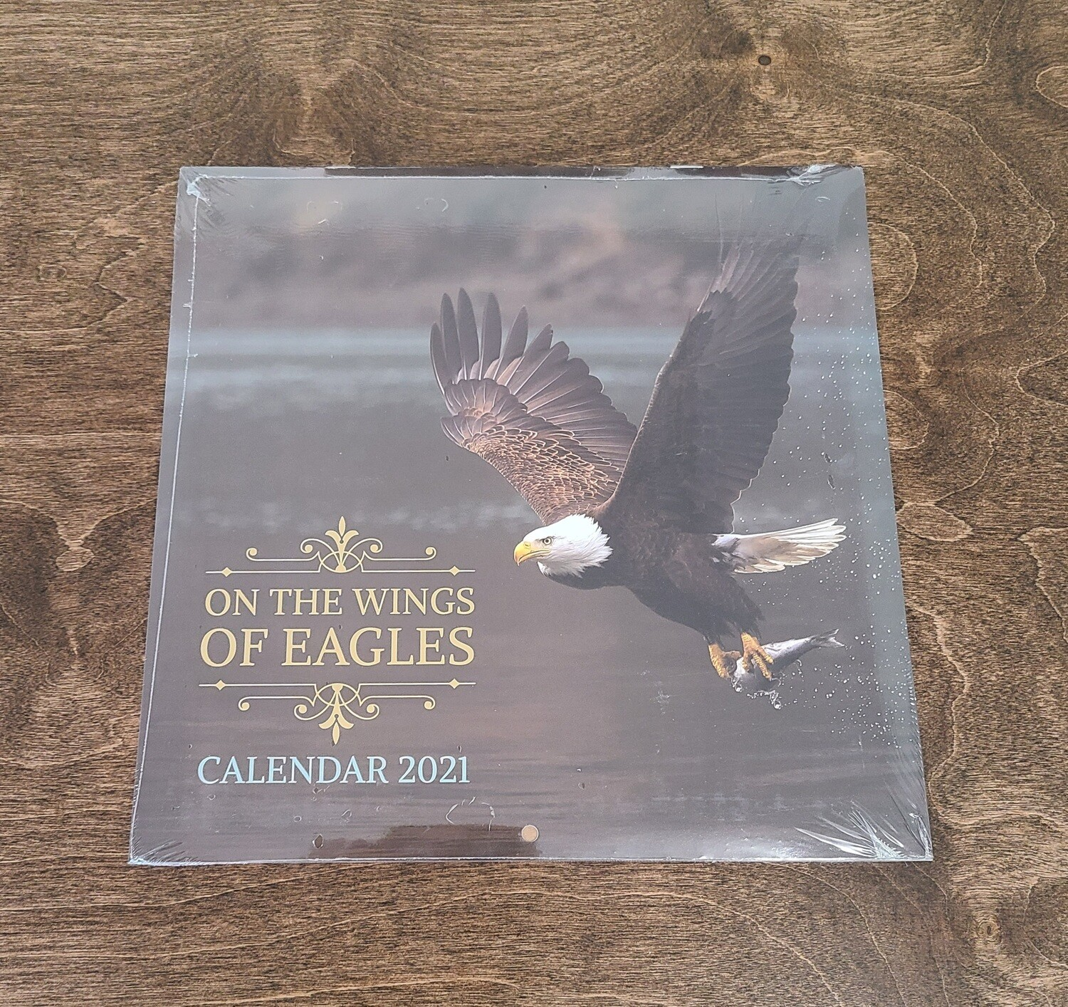 On the Wings of Eagles Wall Calendar 2021