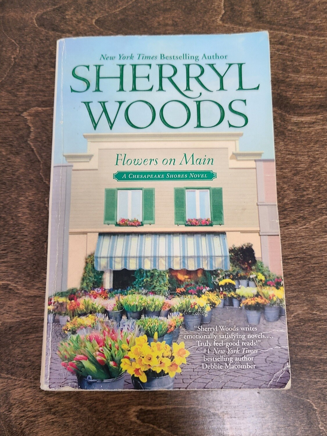 Flowers on Main by Sherry Woods