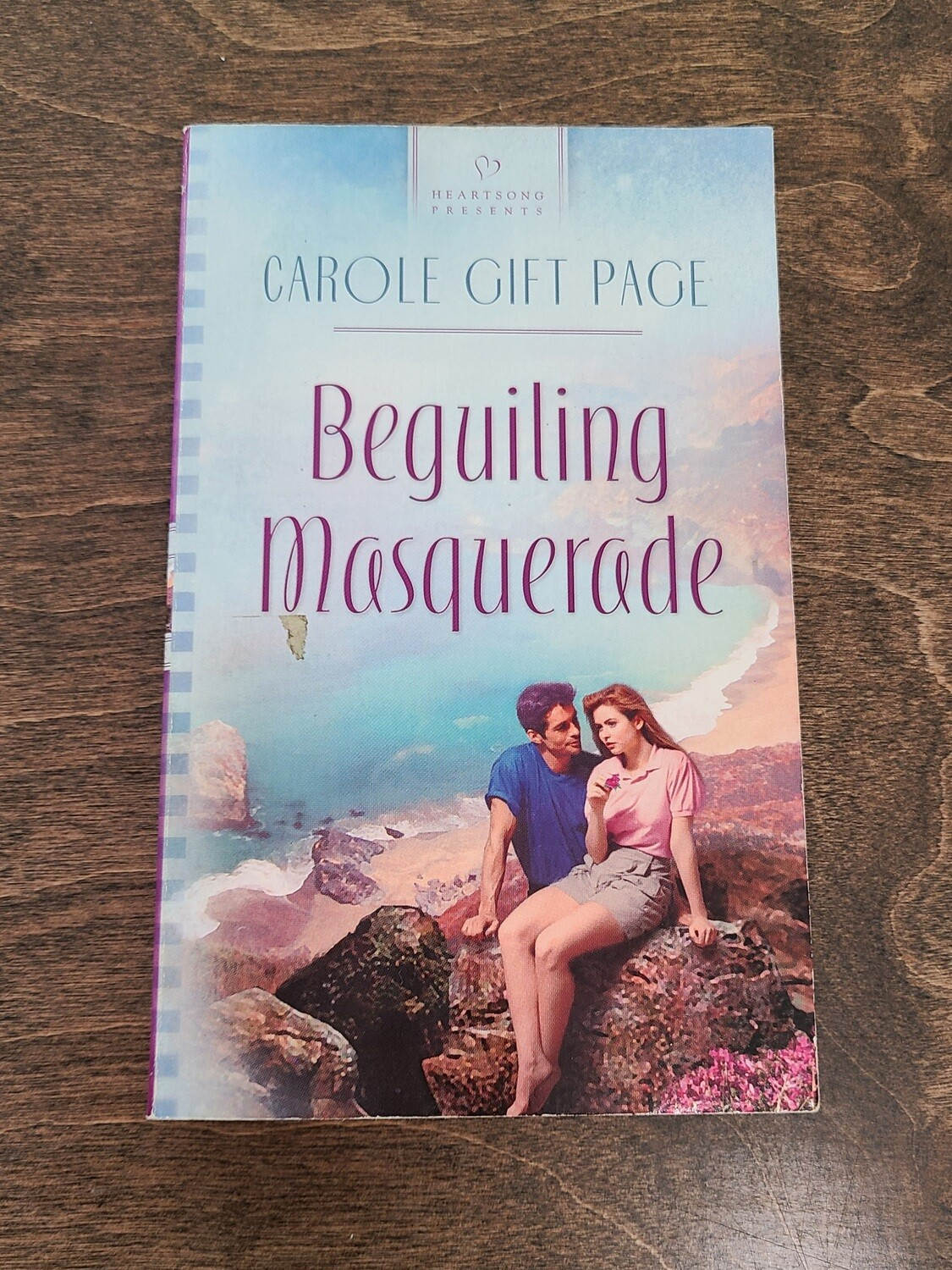 Beguiling Masquerade by Carole Gift Page
