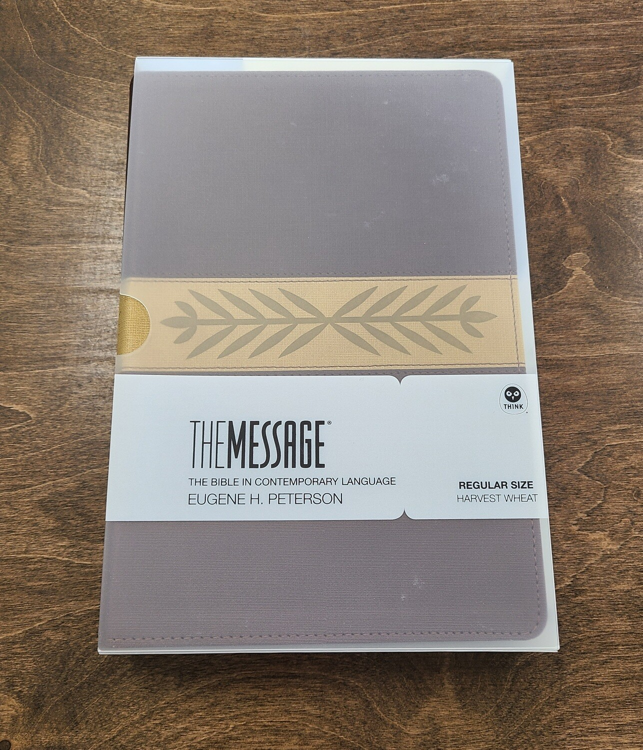 The Message Bible - Harvest Wheat - Regular Size