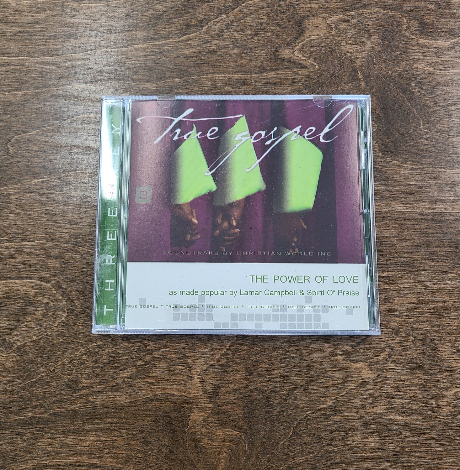 The Power of Love, Accompaniment CD