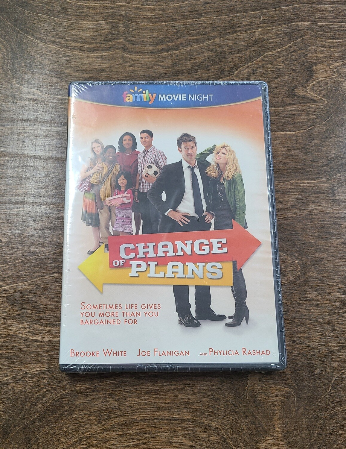Change of Plans DVD
