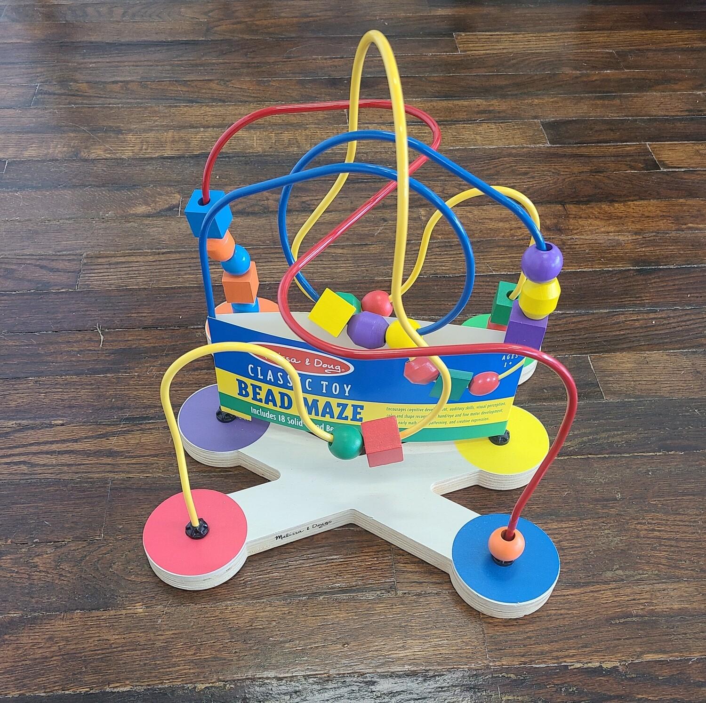 Melissa and Doug's Classic Toy Bead Maze