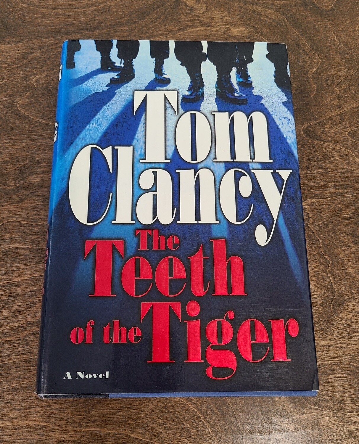 The Teeth of the Tiger by Tom Clancy - Hardback