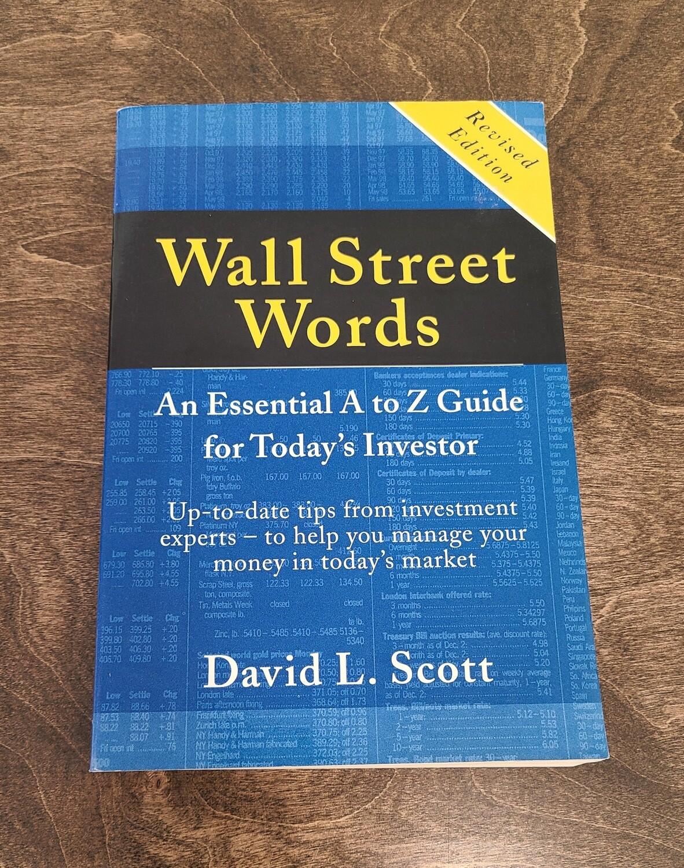Wall Street Words by David L. Scott