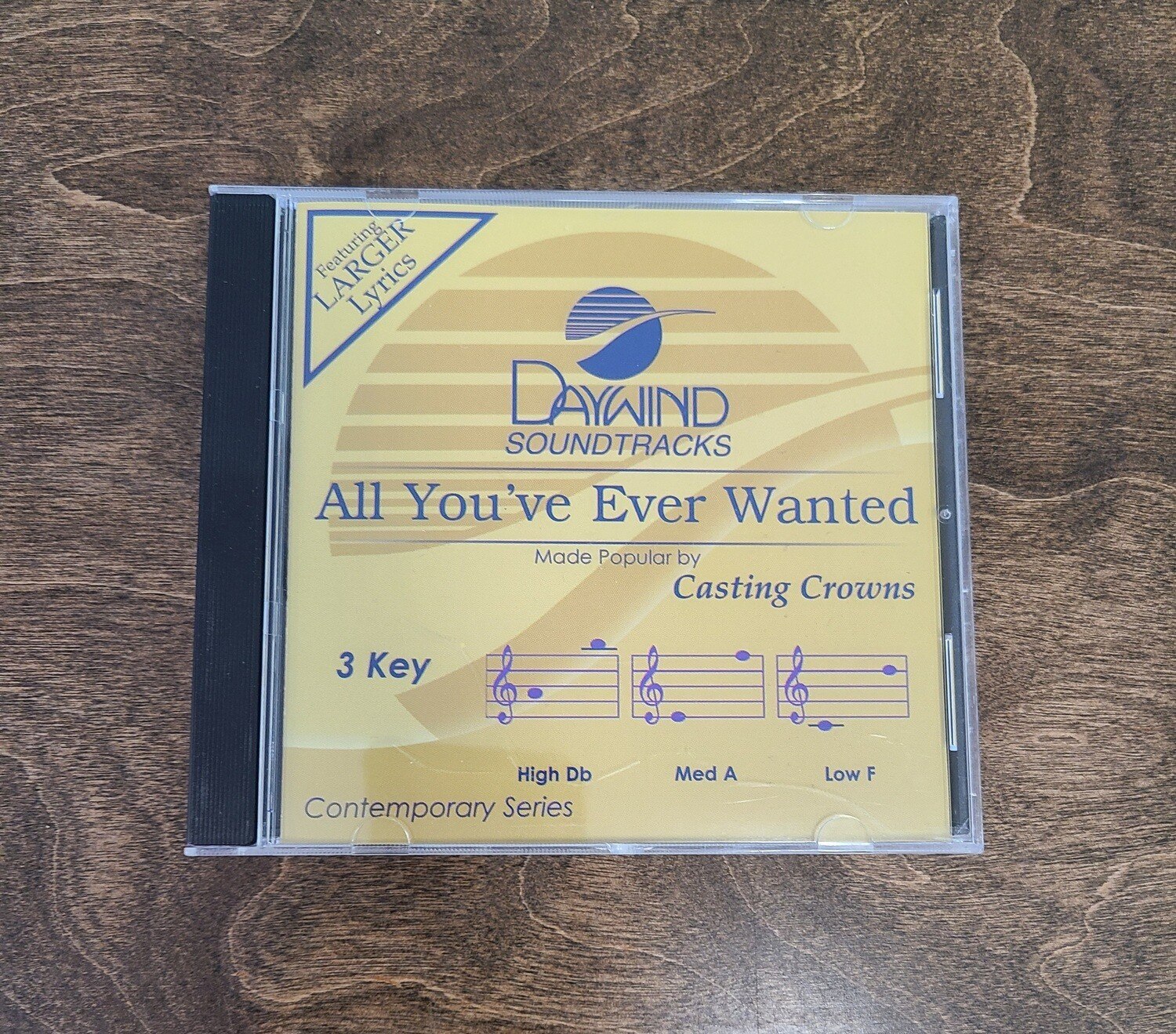 All You've Ever Wanted, Accompaniment CD