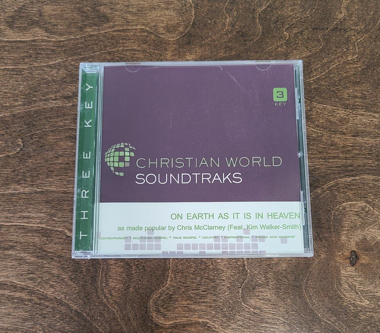 On Earth as it is in Heaven, Accompaniment CD