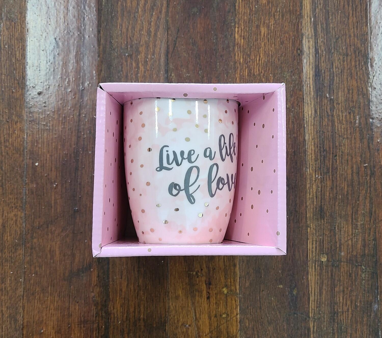 Live a Life of Love Coffee Mug