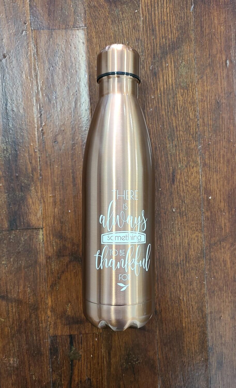 Grateful Bronze Stainless Steel Water Bottle