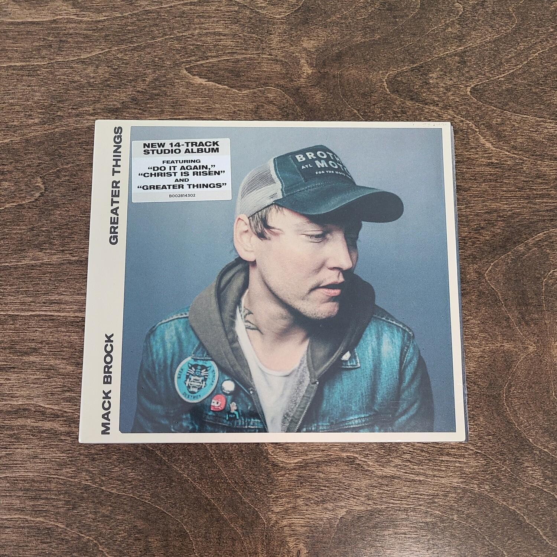 Greater Things by Mack Brock CD