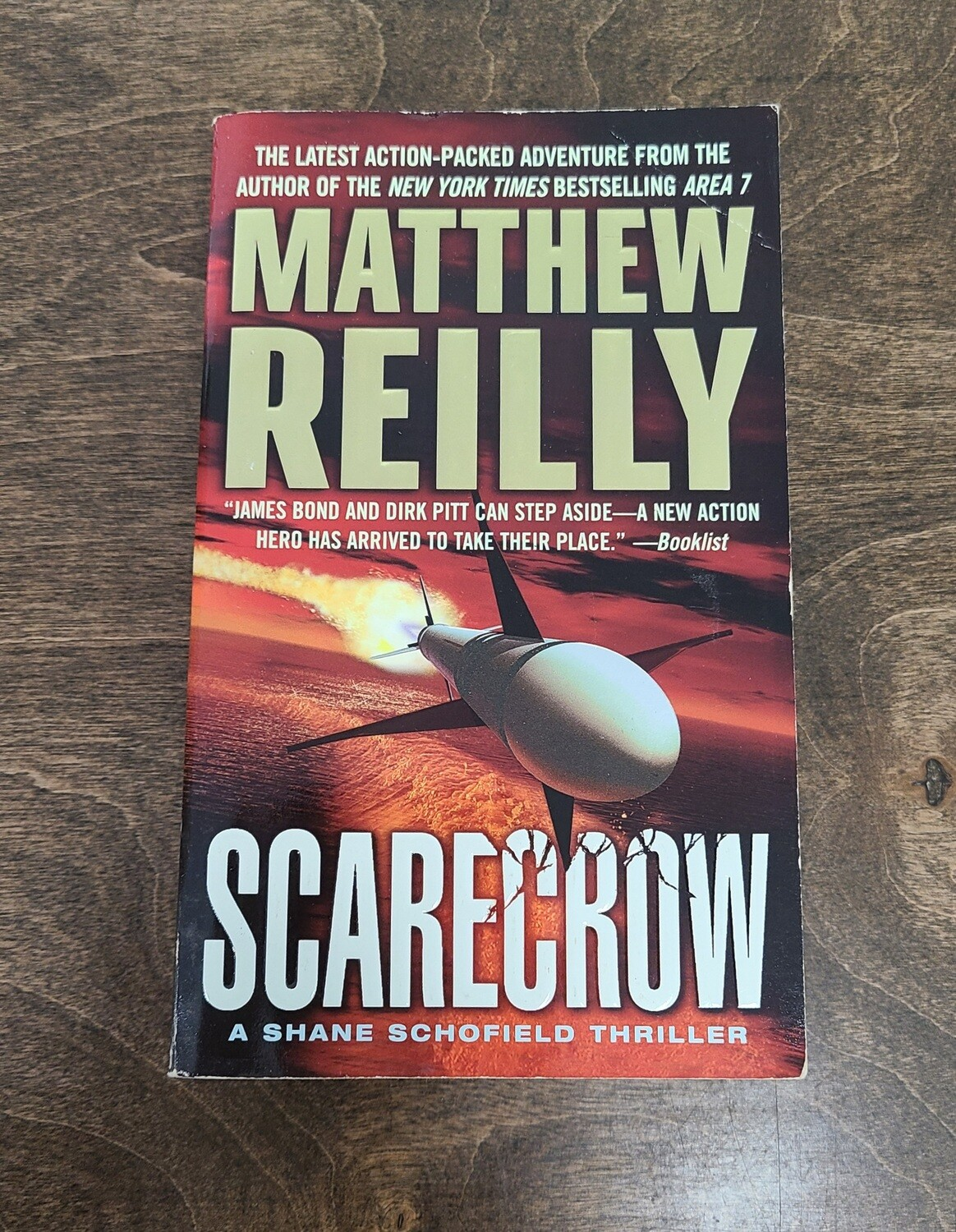 Scarecrow by Matthew Reilly