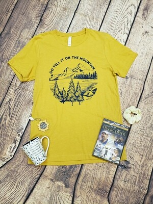 Go Tell It On the Mountain Women's T-Shirt