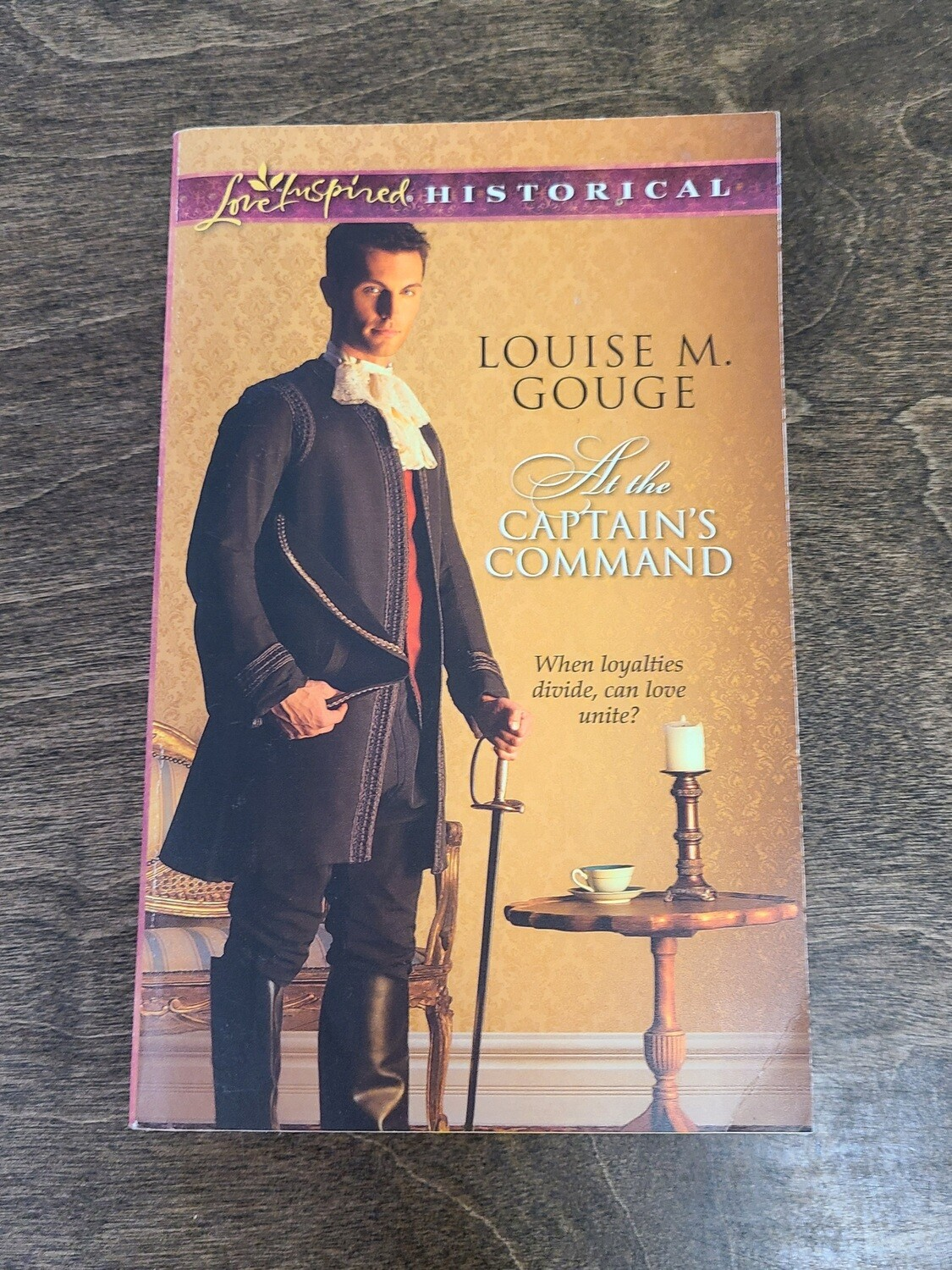 At The Captain's Command by Louise M. Gouge