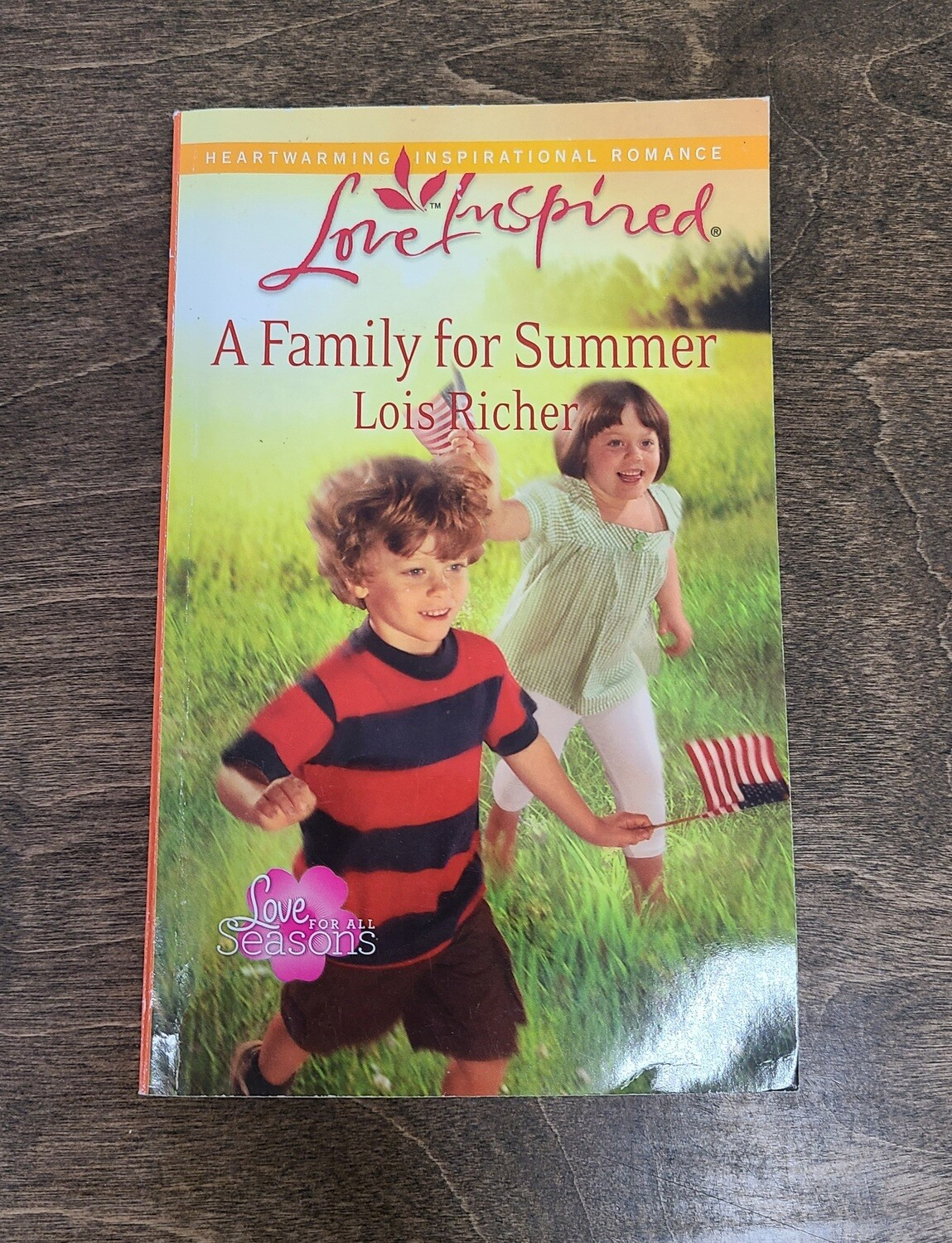 A Family for Summer by Lois Richer
