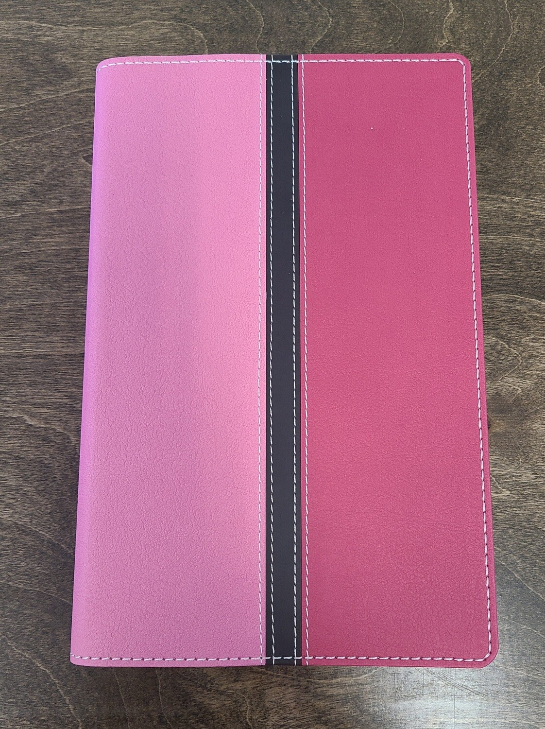 NIV Busy Mom's Bible - Pink/Hot Pink Duo-Tone LeatherSoft Touch