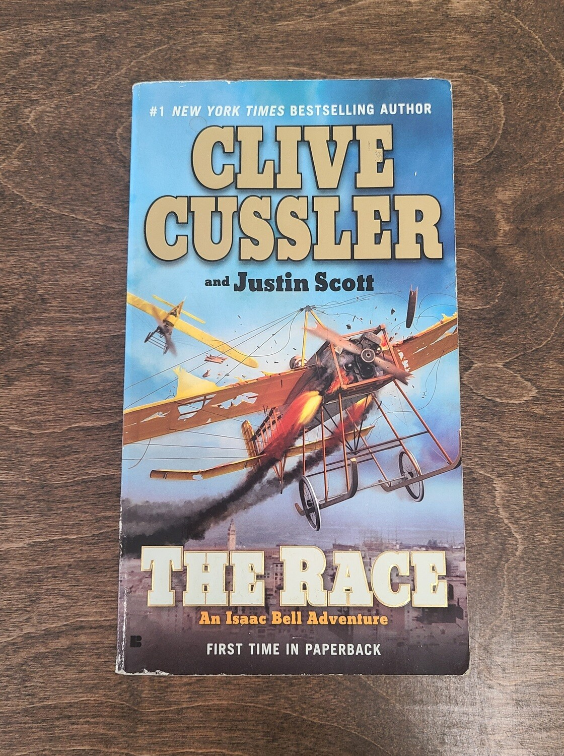 The Race by Clive Cusller and Justin Scott