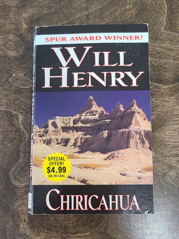 Chiricahua by Will Henry