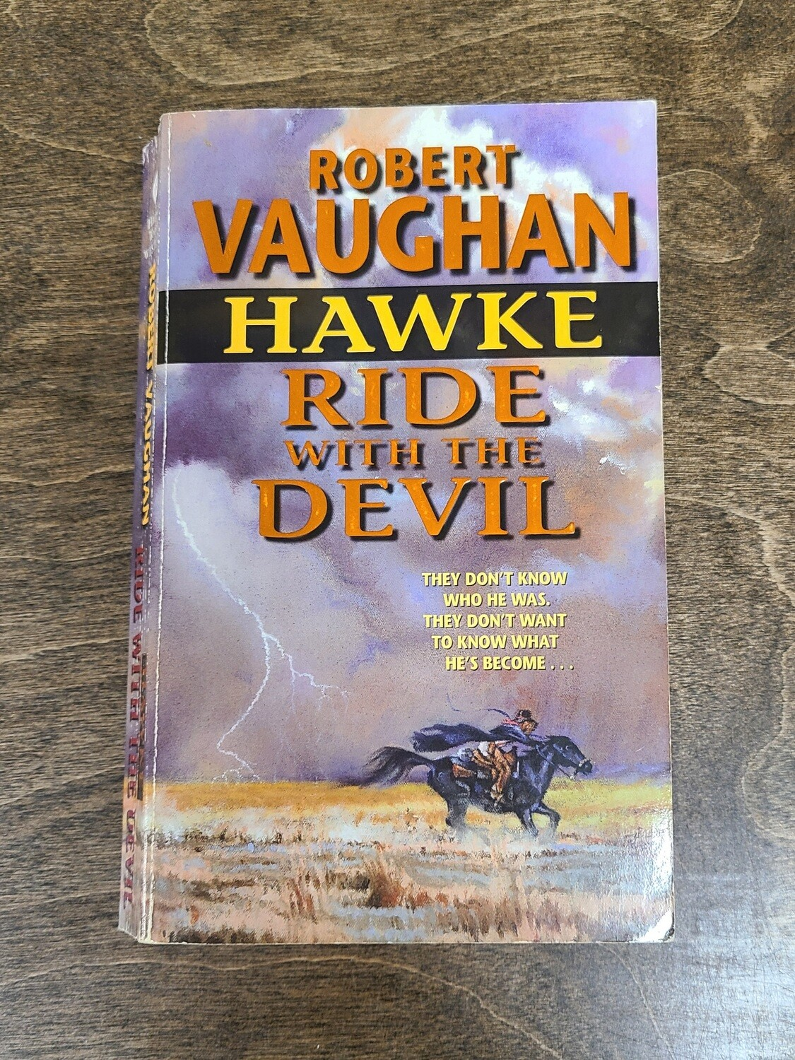 Hawke: Ride with the Devil by Robert Vaughan